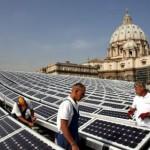 La mega-centrale solare del Vaticano... in Italia