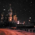 Stop alla neve su Mosca
