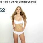 Video: modelle nude contro i cambiamenti climatici