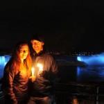 Le Cascate del Niagara prima