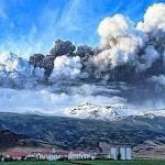 La nube islandese