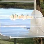 Il barbecue più salutare va ad energia solare