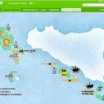 """""""Stop alle trivelle nel Canale di Sicilia"""", Ficarra e Picone con Greenpeace"""