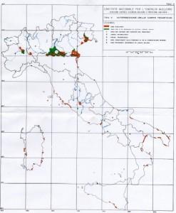 La mappa dell'Enec