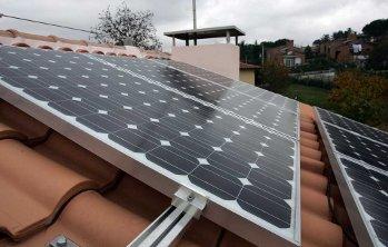 Un impianto solare