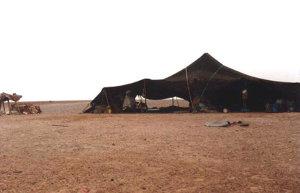 La tenda Tuareg