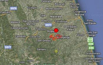 Gli epicentri dei terremoti